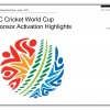 ICC Cricket World Cup Sponsor Highlights