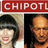 Chipotle/Willie Nelson Link On Sustainable Fast Food