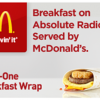 McDonald's 'Quality-Led' Absolute Radio Sponsorship