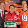 Papa Johns &#8216;Coin Toss Experience&#8217; Super Bowl Pizza Promotion