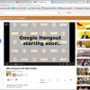 DHL Man Utd Google+ Hang-out For Training Kit Launch