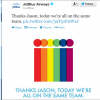 JetBlue's Social Campaign Supports J Collins' Courage