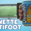 La Canette Anitfoot: Anti-Football Orangina Can Stunt