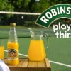 Robinsons' Wimbledon 'Play Thirsty' & 'Squash'd' Mix Old School & New-Tech Tennis