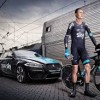 Jaguar Film Froome & Team Sky 'Under The Sea' Bike Ride