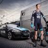 Jaguar Film Froome & Team Sky 'Under The Sea' Bike Ride