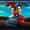 Honda's 'R vs R' Stunt Sees A Virtual Car Race A Real One In Mixed Reality Forze Motorsport 7 Initiative