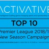 Activative's Top Ten: Our Pick Of Stand Out Campaign's Leveraging 2018/19 Premier League Kick-Off