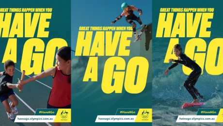 AOC Encourages Aussies To 'Have A Go' In New Campaign Via M&C Saatchi Sport & Entertainment