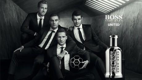 Kane, Kroos, Varane, Roberto & Falcao Front Hugo Boss Eau De Parfum 'Unite To Celebrate'