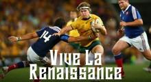 Rugby Australia Celebrates Wallabies Vs France Tests Via 'Vive La Renaissance' Campaign