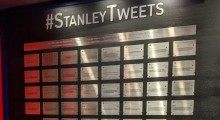 NHL & Twitter's #StanleyTweets On Physical Display At The Hockey Hall of Fame