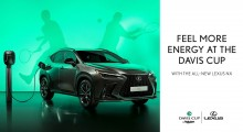 Lexus Campaign Marks Becoming The Official Car Of 'Davis Cup By Rakuten' Finals 2021