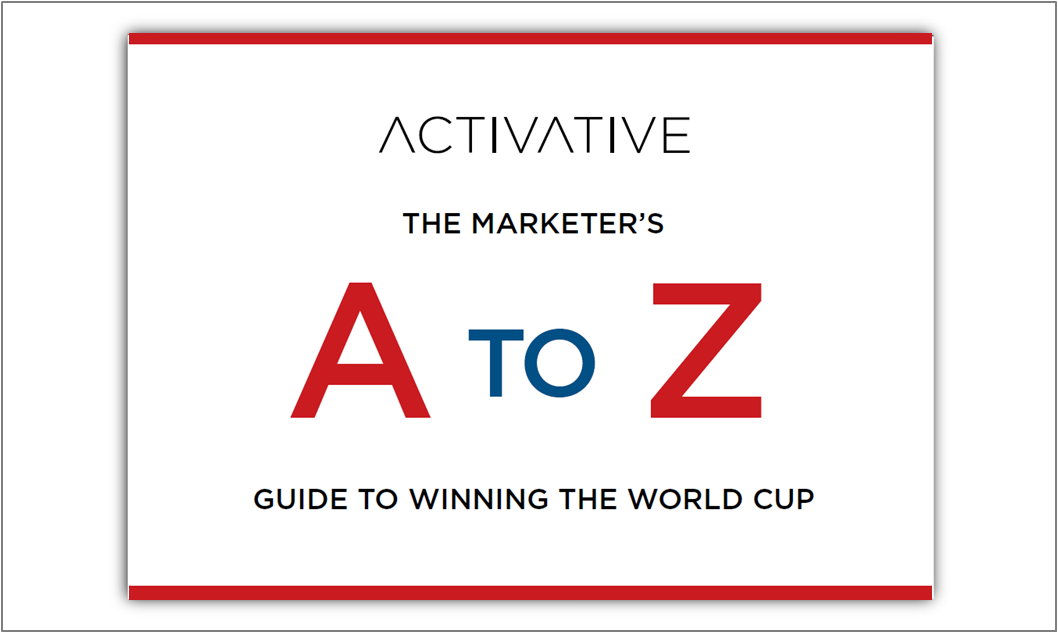 Marketer's A to Z Giude To Winning The World Cup